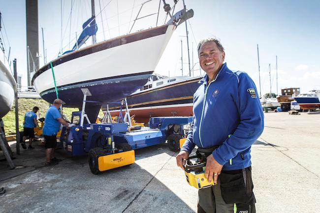 Boatyard Team Leader Jon Lucas