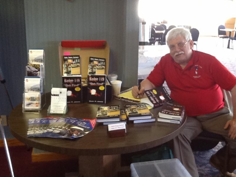 Book signing in Michigan