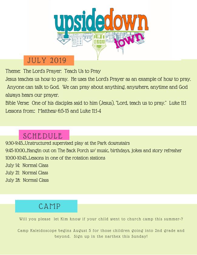 Calvary United Methodist Church Newsletter