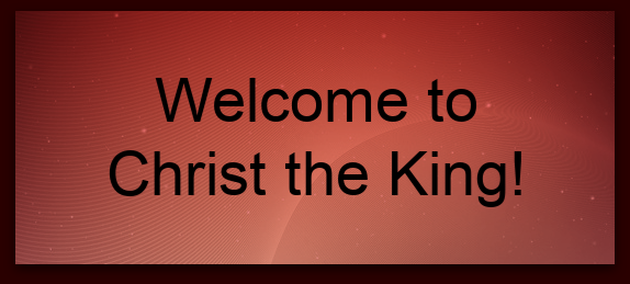 Parents Club Welcome to Christ the King