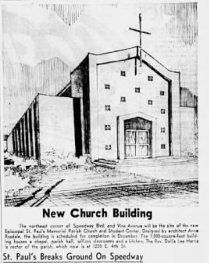 illustration of original building