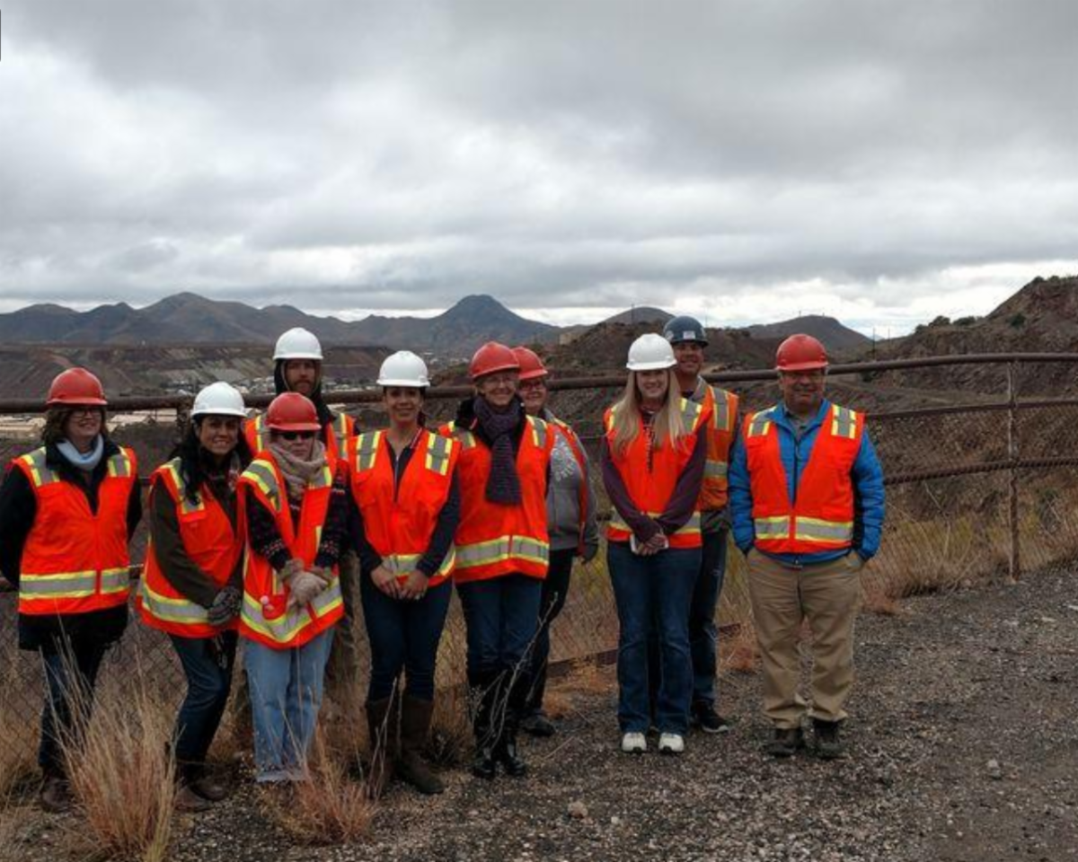 faculty staff teachers on reclamation site