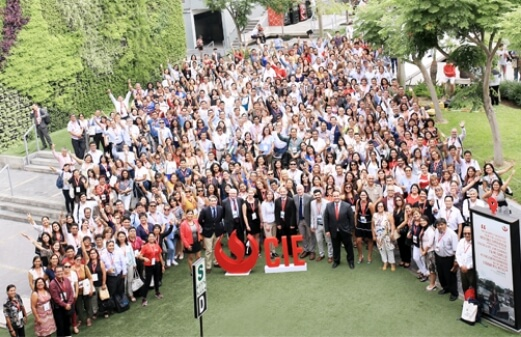Group photo of International Congress for Educators attendees from previous year