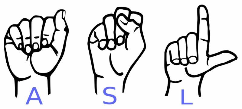 ASL in sign language