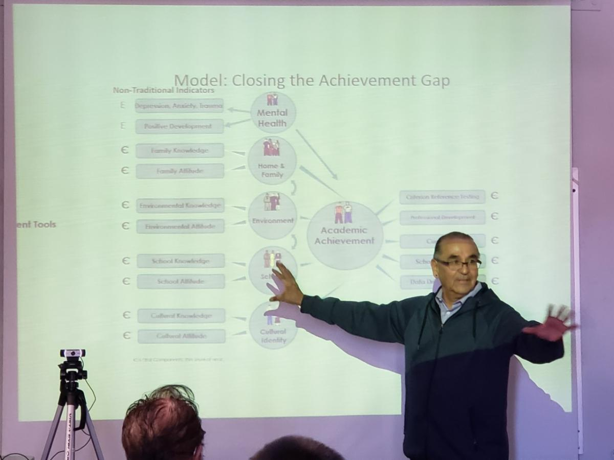 kelvin white talks about closing the achievement gap