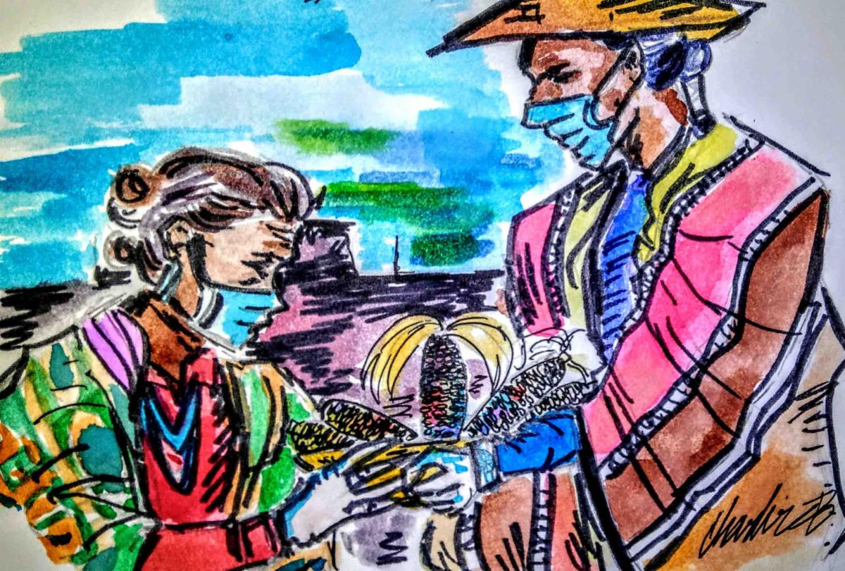 Image from Navajo Hopi COVID19 Relief Fund Campaign