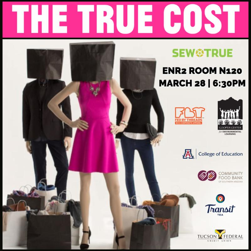 True Cost film screening poster