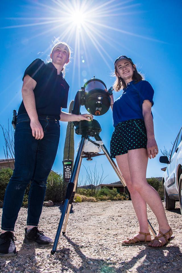 telescope at cooper