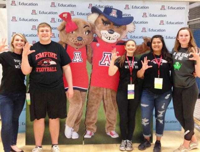 students at edrising conference