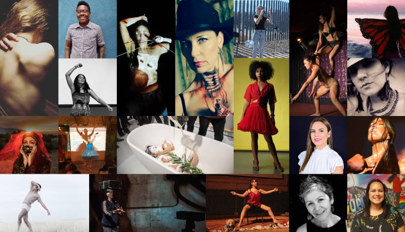 Female artists for Binational Encuentro event