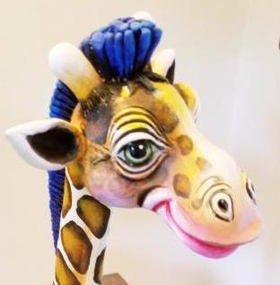 girafa sculpture