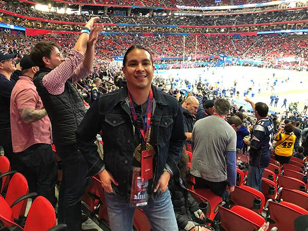 jd lopez at super bowl