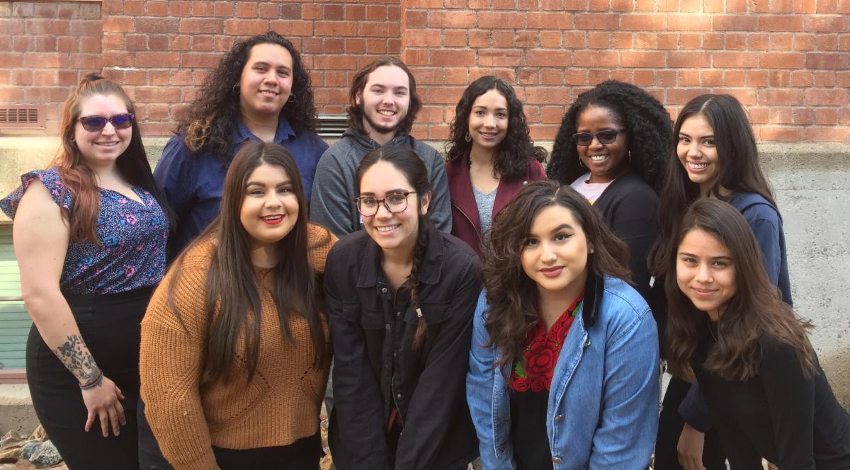 Group photo of AWARDSS students