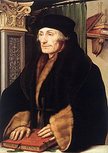 painting of erasmus