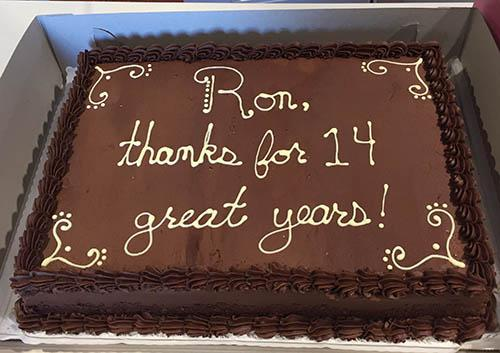 cake for ron