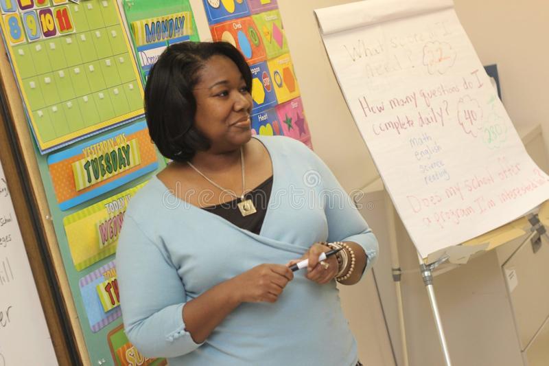 teacher doing professional development