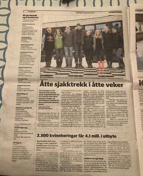 study abroad newspaper article