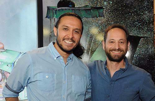 Alejandro and Josh