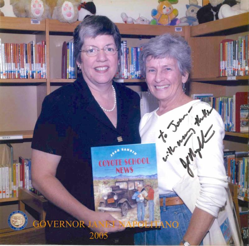 joan with janet napolitano