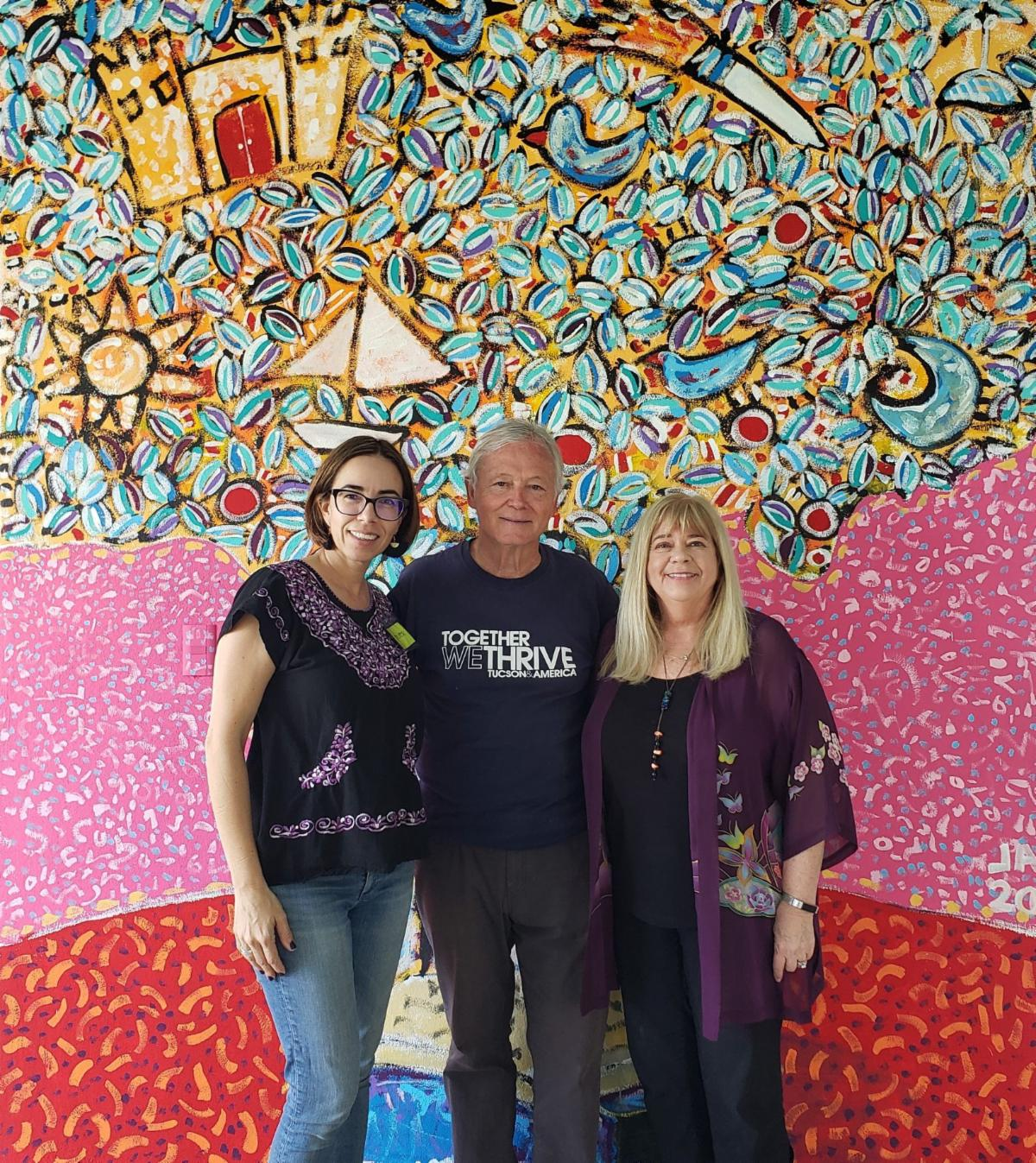 Andrea Garcia Todd Fletcher and Kathy Short at Resplandor