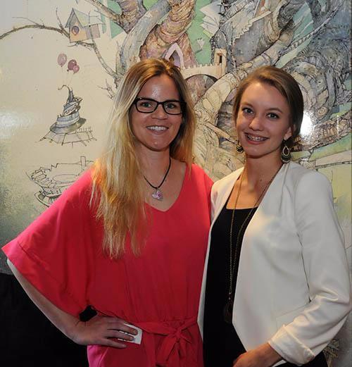 Julia and Melissa