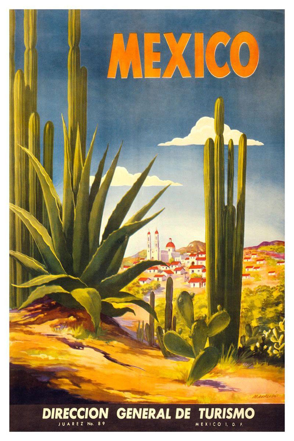 mexico tourism poster