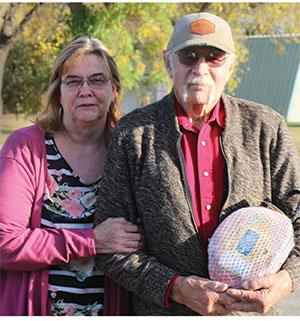Seniors like Debra and Leland are grateful to have access fresh produce.