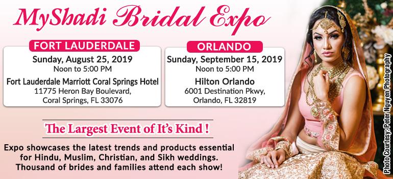 MyShadi Bridal Expo - The Largest Event of It's Kind!