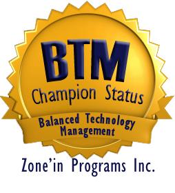 BTM Champion Status Seal