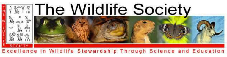 The Wildlife Society - Excellence in Wildlife Stewardship Through Science and Education