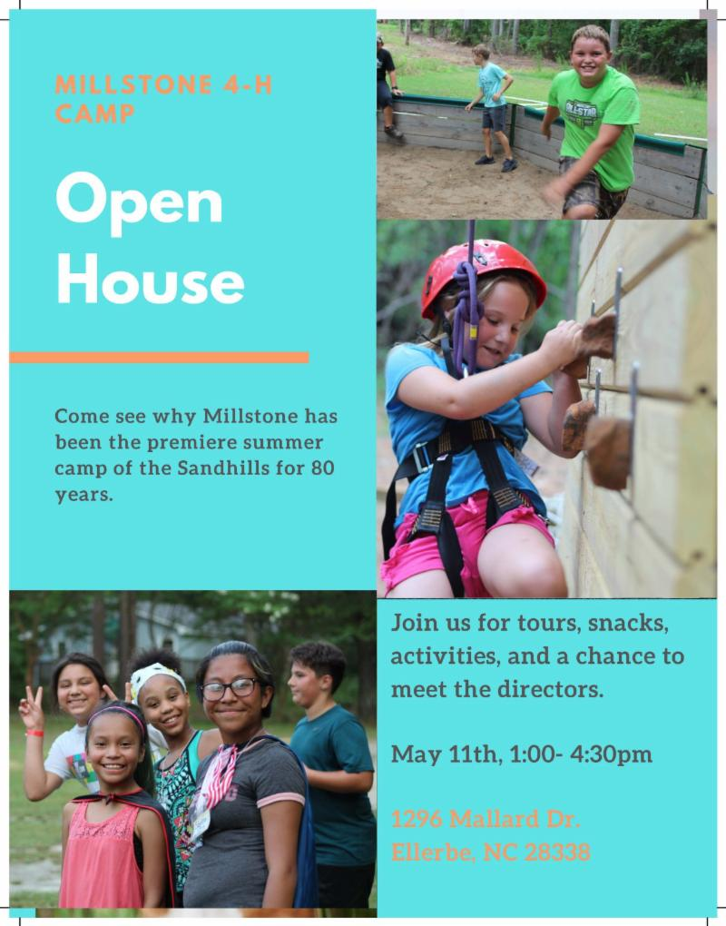 Millstone 4-H Camp Open House
