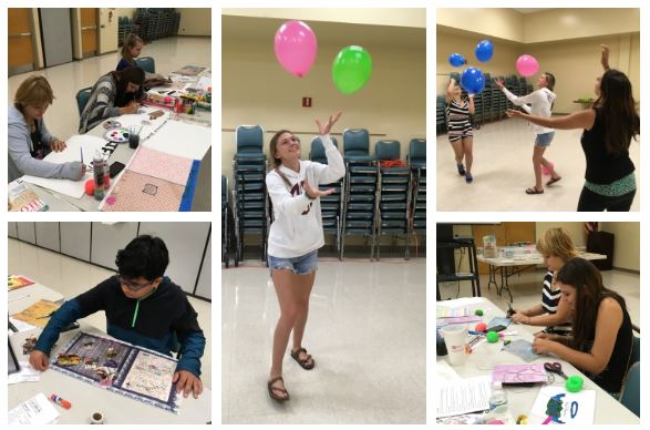 Collage of our 4-H Follow Your Dreams Camp experience.