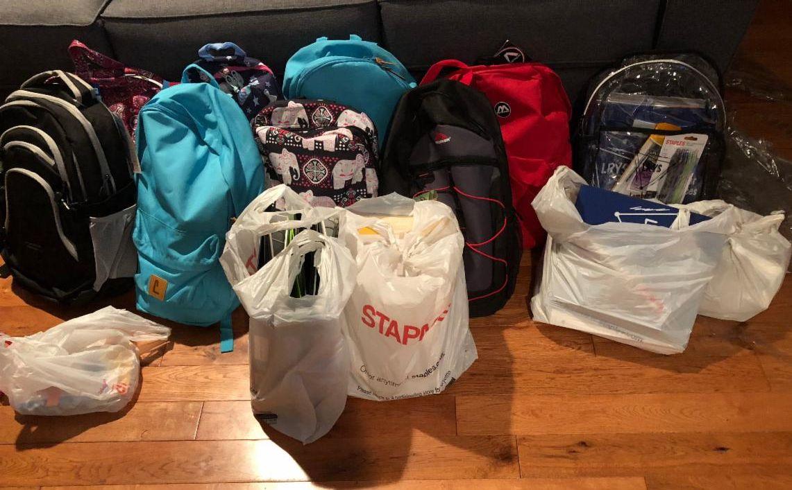 School Supplies for Homeless Children