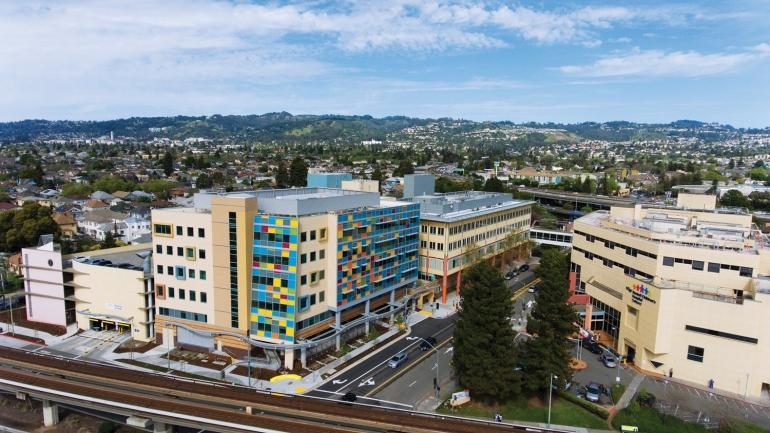UCSF Benioff Children's Hospital campus