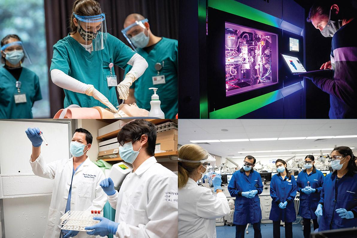 collage of research and clinical classes