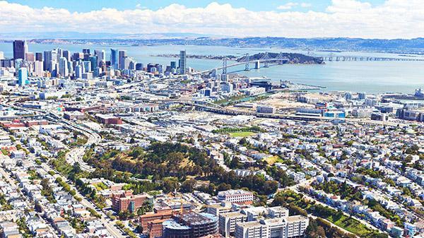 Aerial of San Francisco