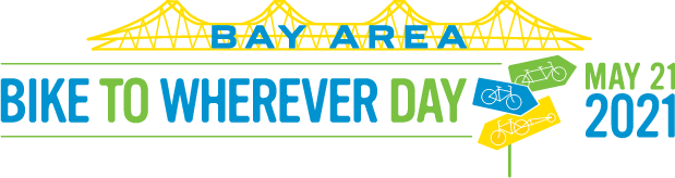Bay Area Bike to Wherever Day May 21 2021 logo