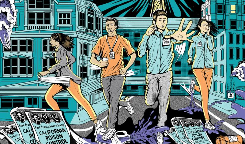 Poison Control operators racing to save the city