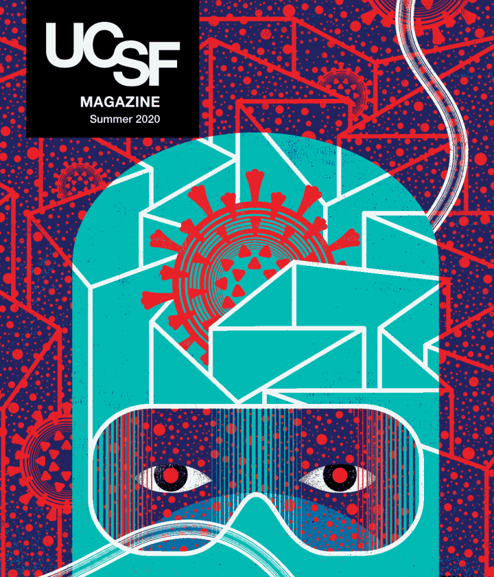 UCSF Magazine Cover