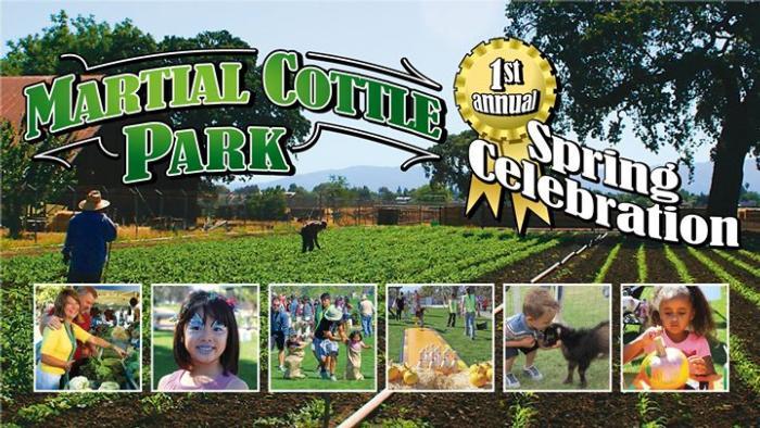 Martial Cottle Park Spring Celebration