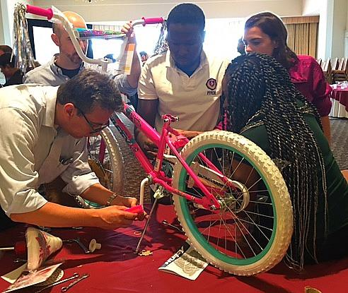 World Bank Giving Back in Virginia with Venture Up Team Building