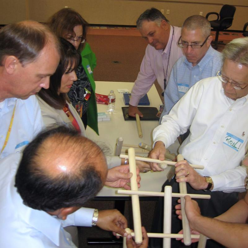Building Bridge Houston Team Building-ventureup.com
