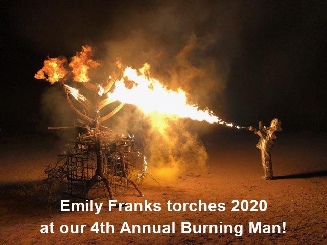 Burning Man 2021 Gold Canyon Arizona
