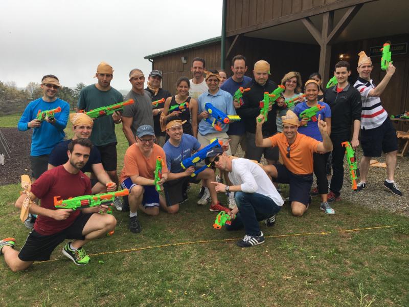 Nerf Gun Corporate Team Building in Virginia
