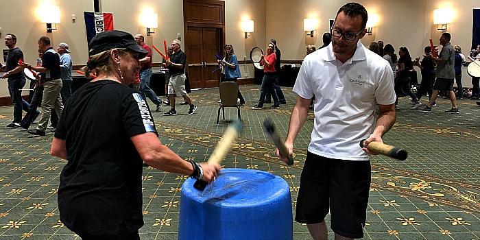Drumming in Phoenix-TeamBuilding with Venture Up