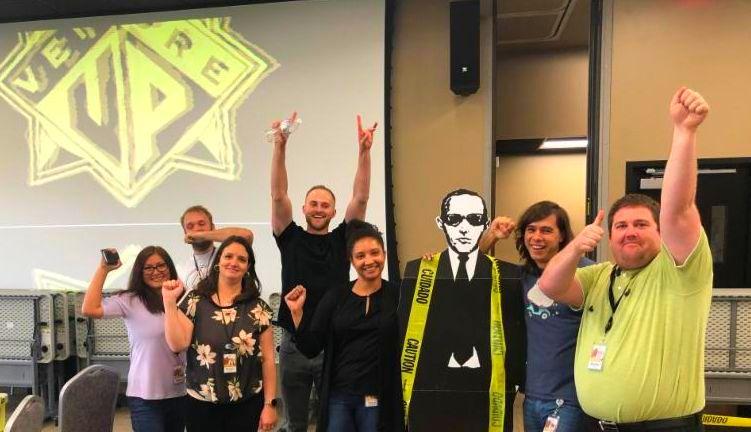 Corporate team building escape game