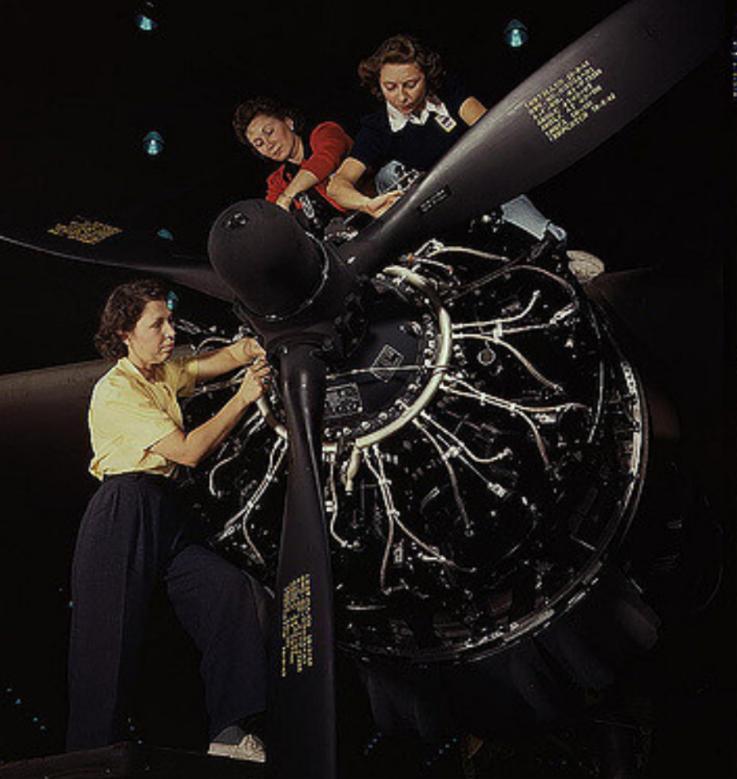 Women behind WWII