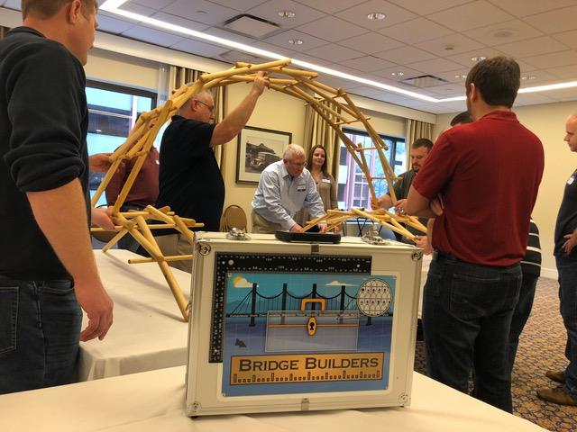 Escape Room Bridge Building Team Game