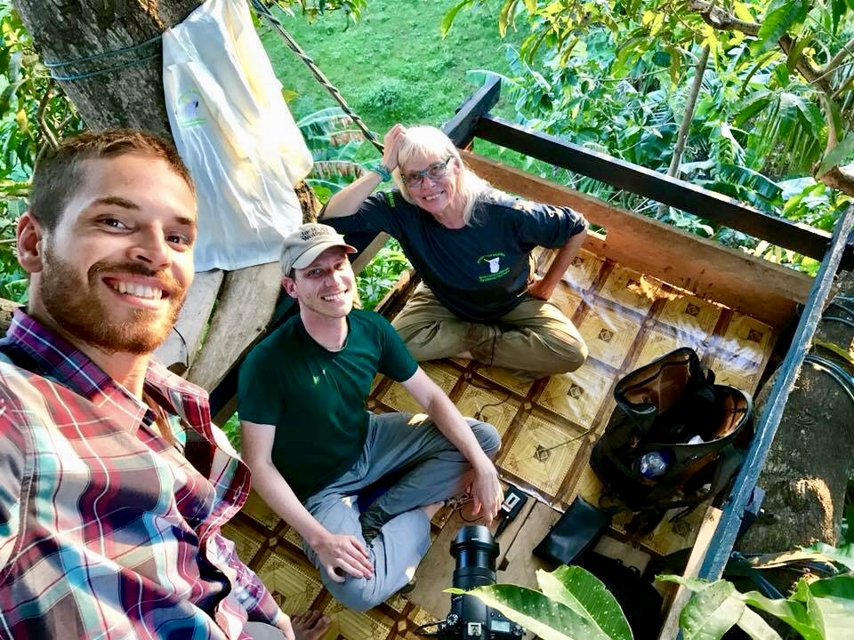 Bonnie and team in Indonesia