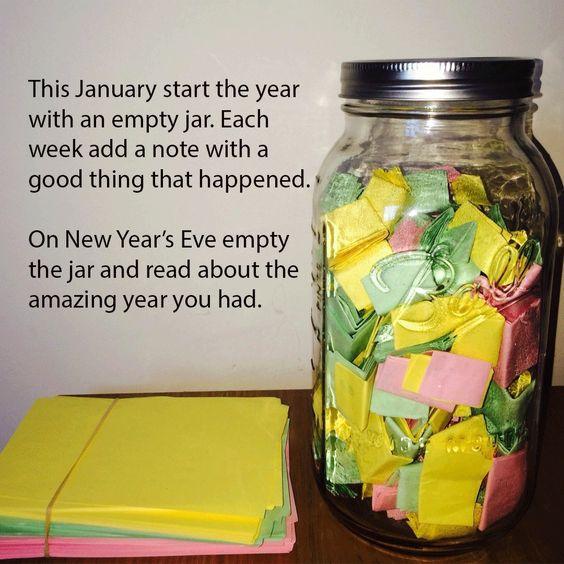 2018 Memory Jar